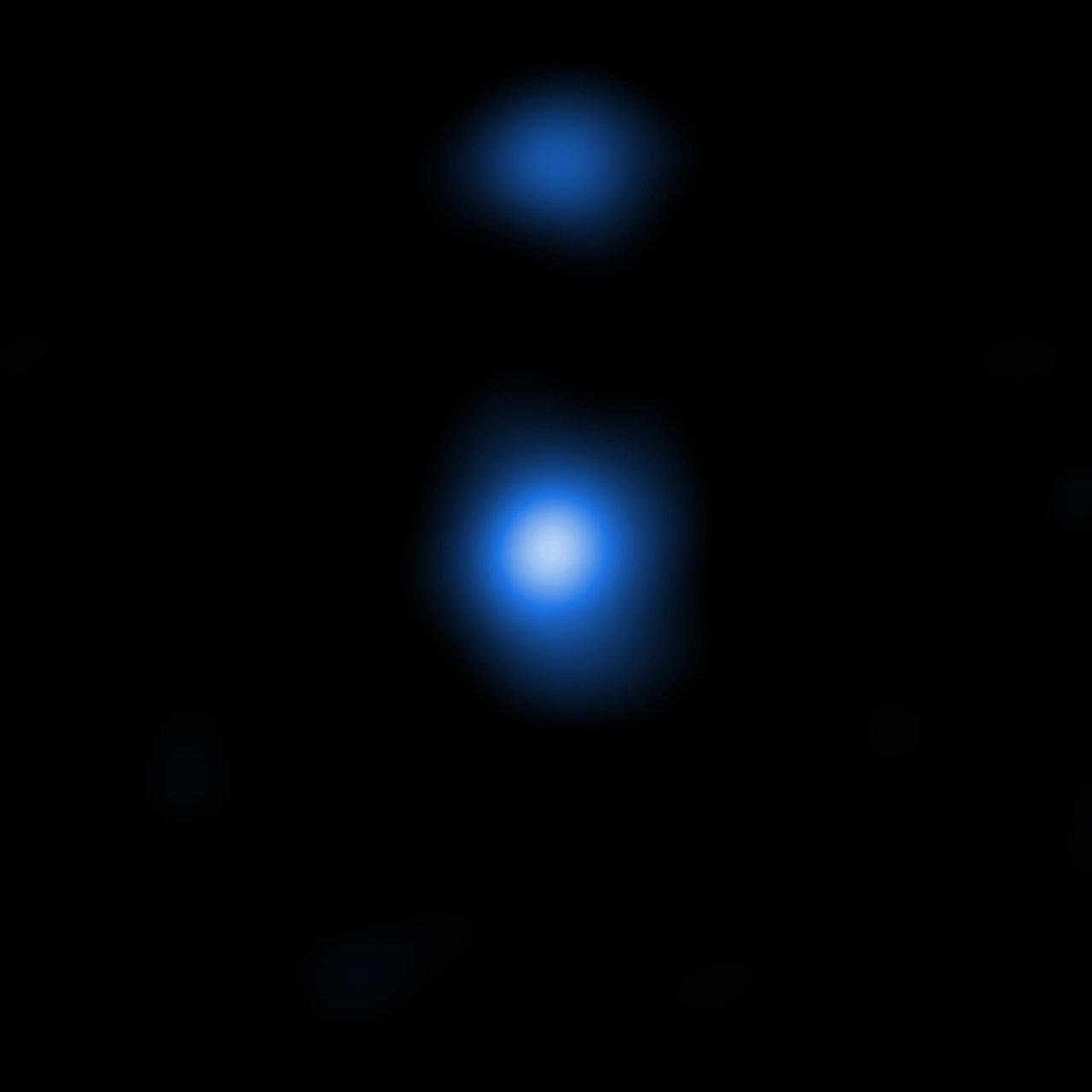 Supermassive graine de trou noir vu par Chandra