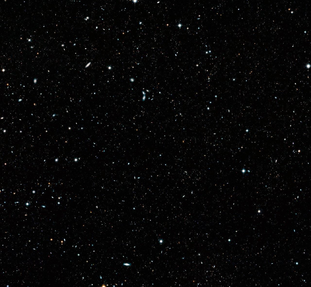 Hubble Telescope Deep Field Space Print//Poster
