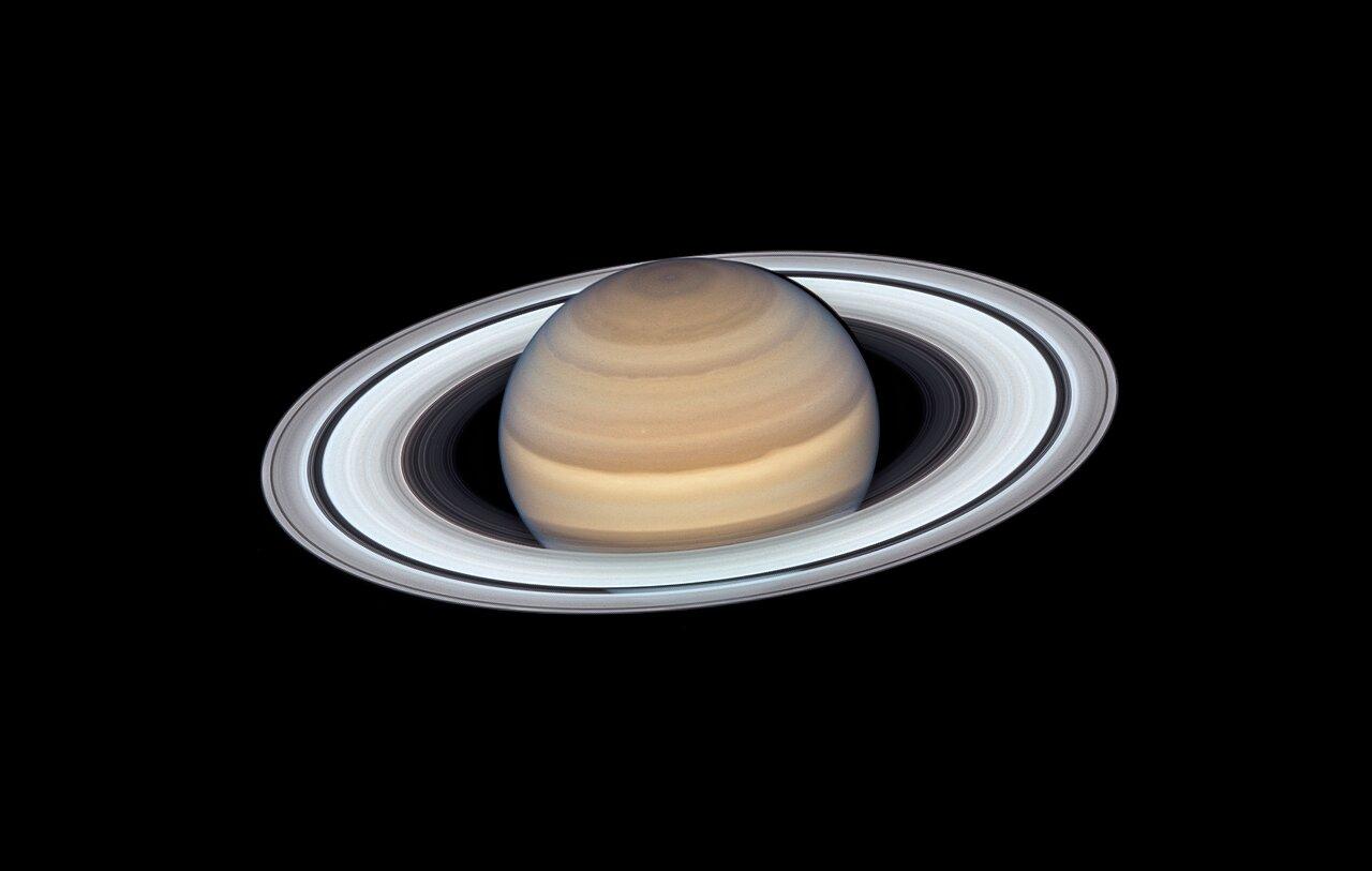 Hubble Reveals Latest Portrait of Saturn