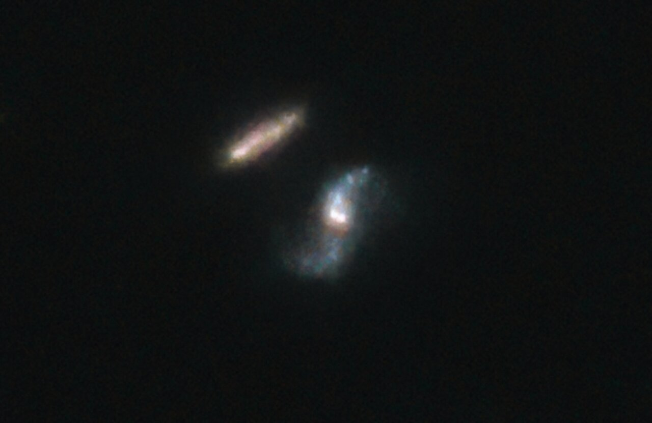 Hubble Observation of the host galaxy of GRB 190114C