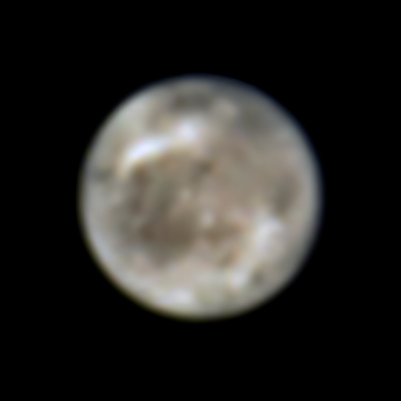 Hubble Finds First Evidence of Water Vapour at Jupiter's Moon Ganymede