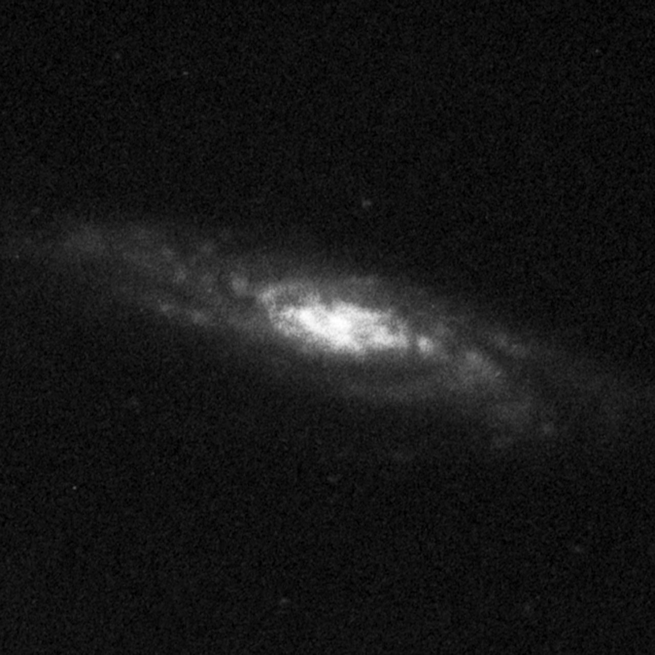 Central Bulges of Spiral Galaxies - NGC 7537 (Ground-Based View)
