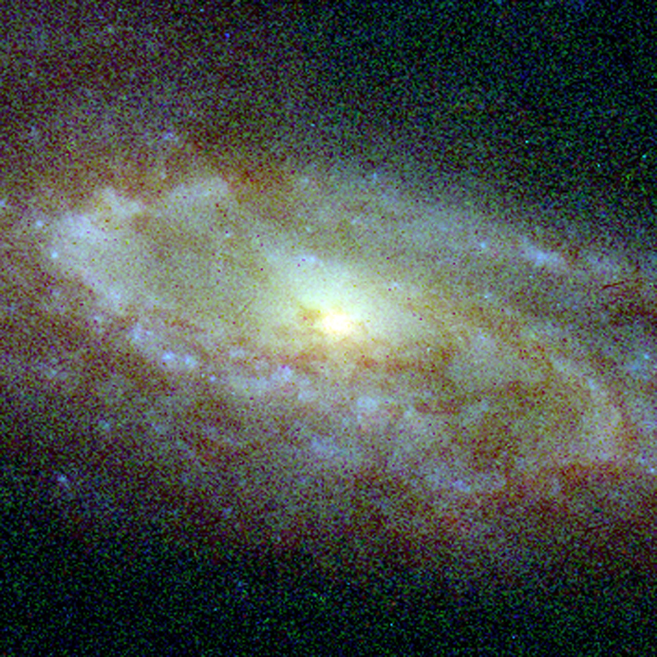 Central Bulges of Spiral Galaxies- NGC 7537 (Hubble NICMOS and WFPC2 View)