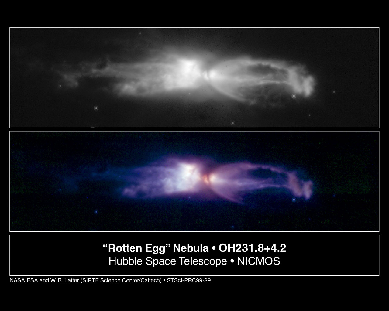 The 'Rotten Egg' Nebula - a Planetary Nebula in the Making