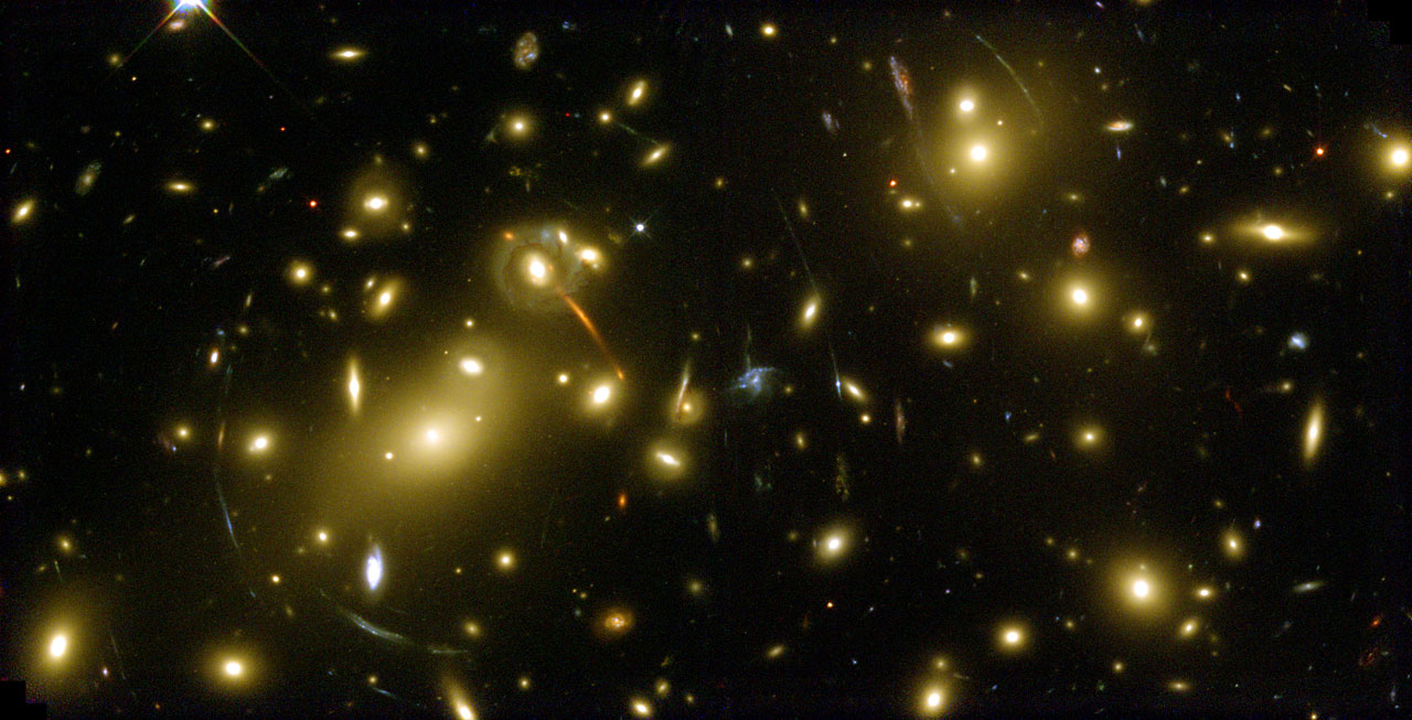 Galaxy Cluster Abell 2218 - a Cosmic Magnifying Glass