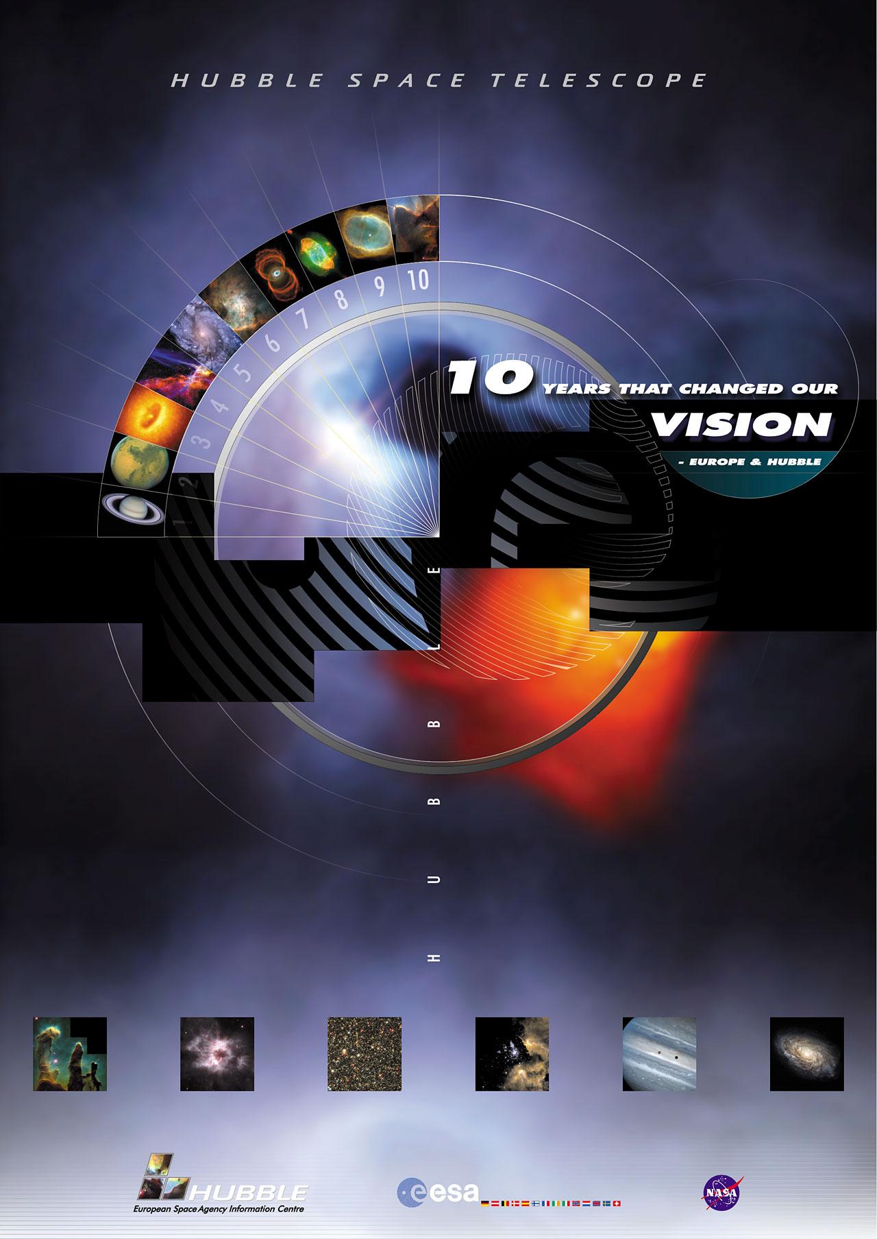 Hubble ESA Information Centre Poster