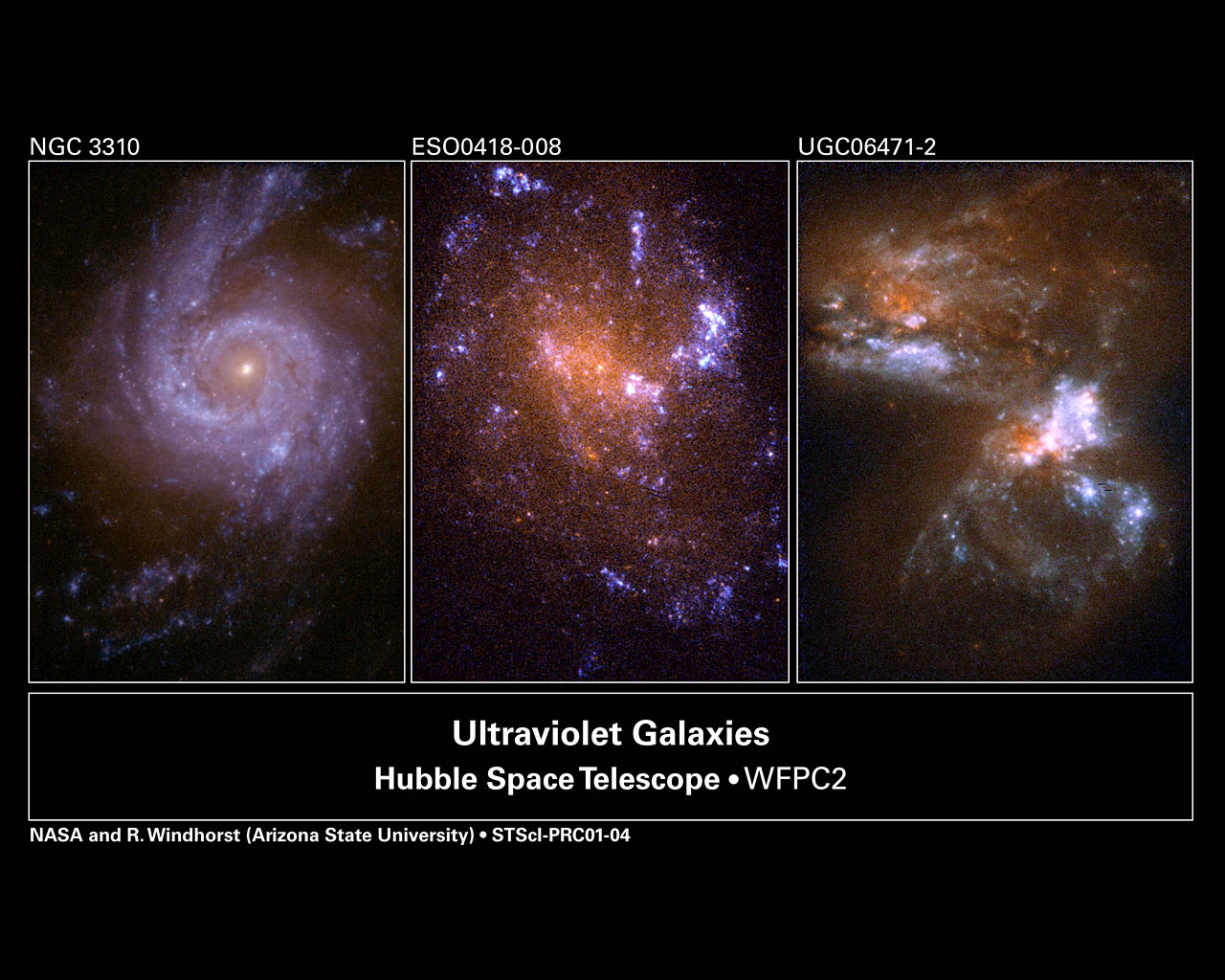 Hubble Ultraviolet View of Nearby Galaxies