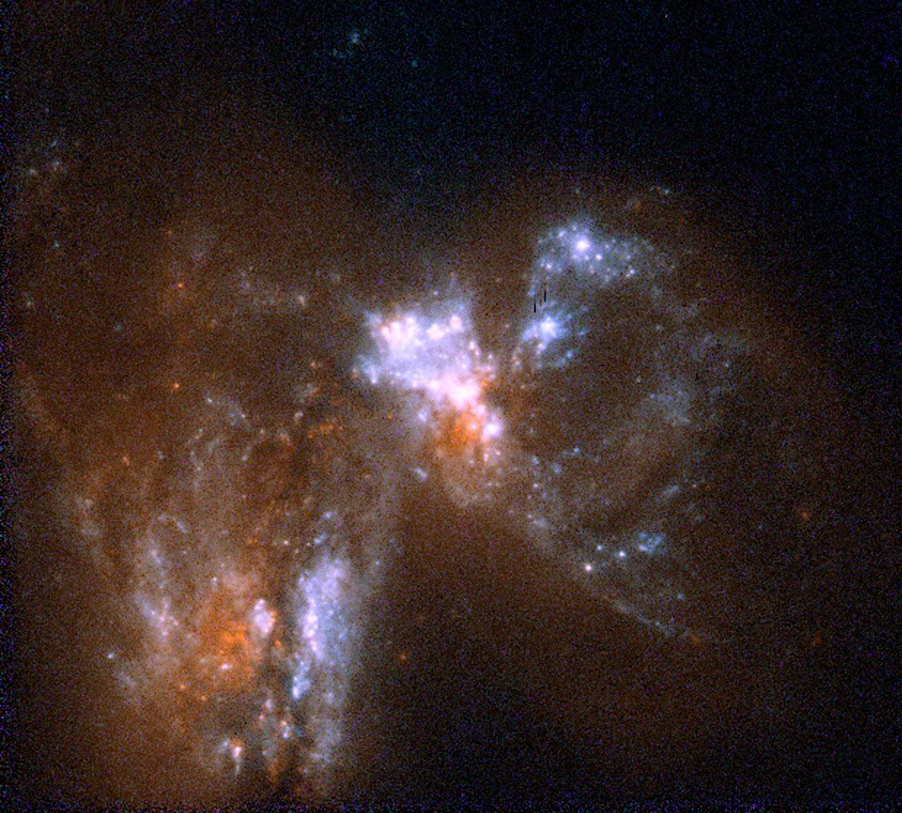 Merging Galaxies UGC06471 and UGC06472