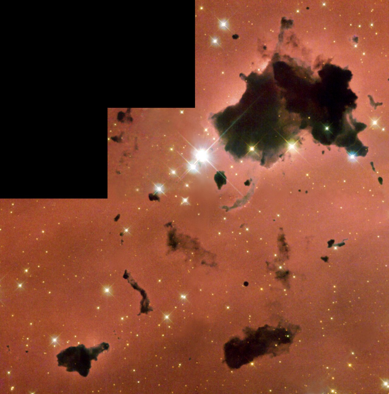 Thackeray's Globules in IC 2944