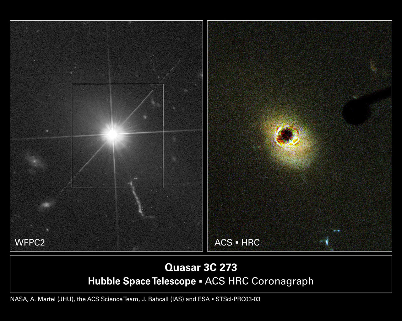 Hubble Probes the Heart of a Nearby Quasar
