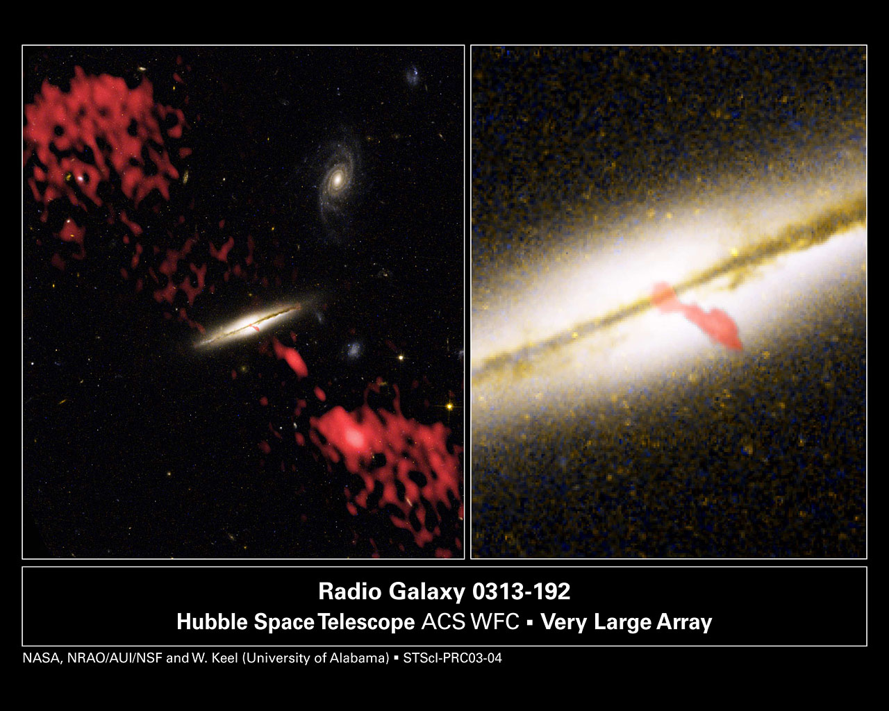 Giant Radio Jet Coming from Wrong Kind of Galaxy