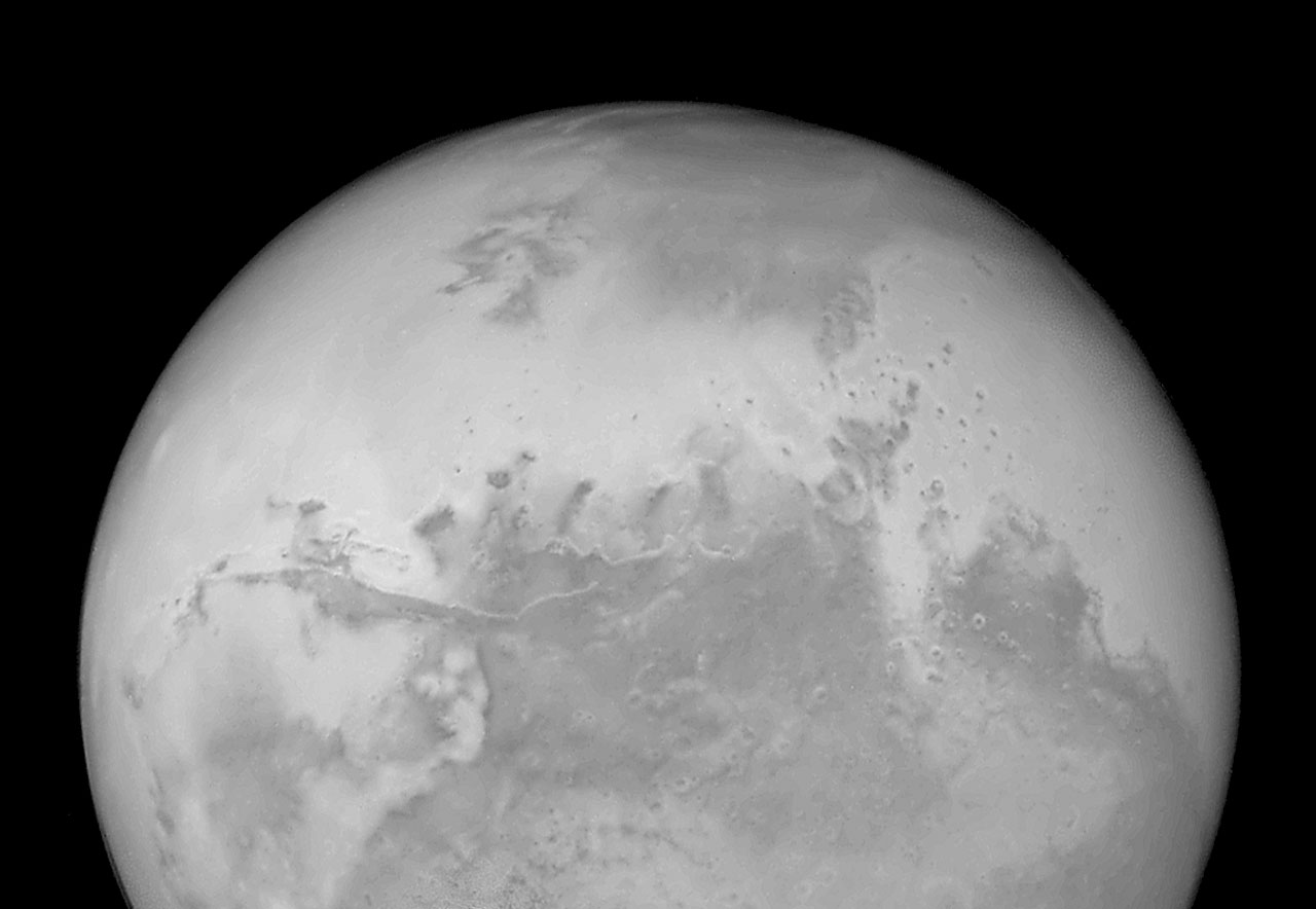 Hubble's Sharpest View of Mars: ACS Image