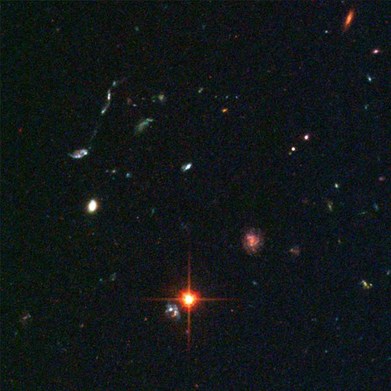 Details from ACS Image of NGC 3370: Lower Middle Right