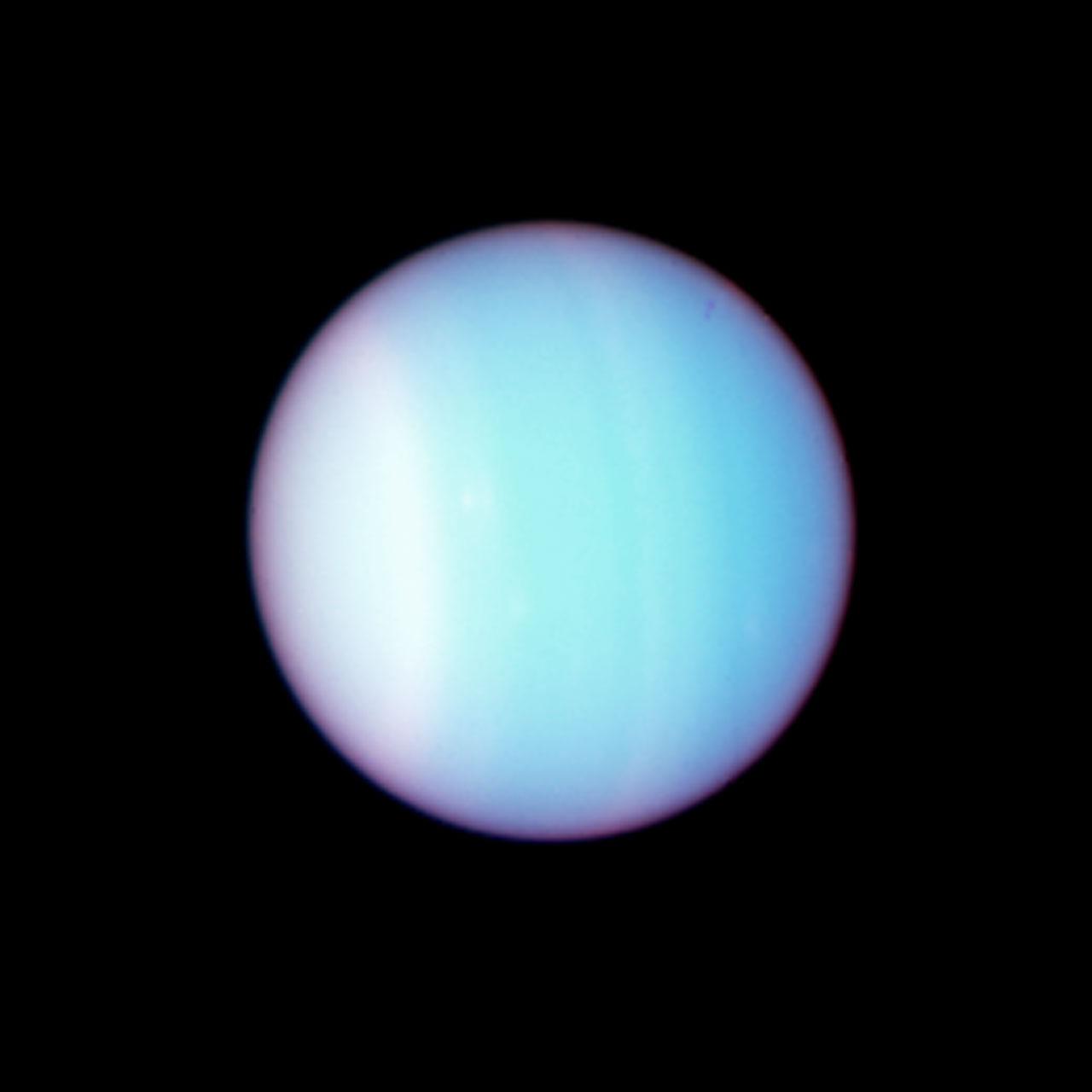 Uranus Colour Composite Full Size Image Esa Hubble
