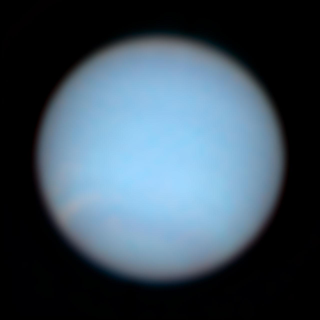 Neptune in Natural Colors