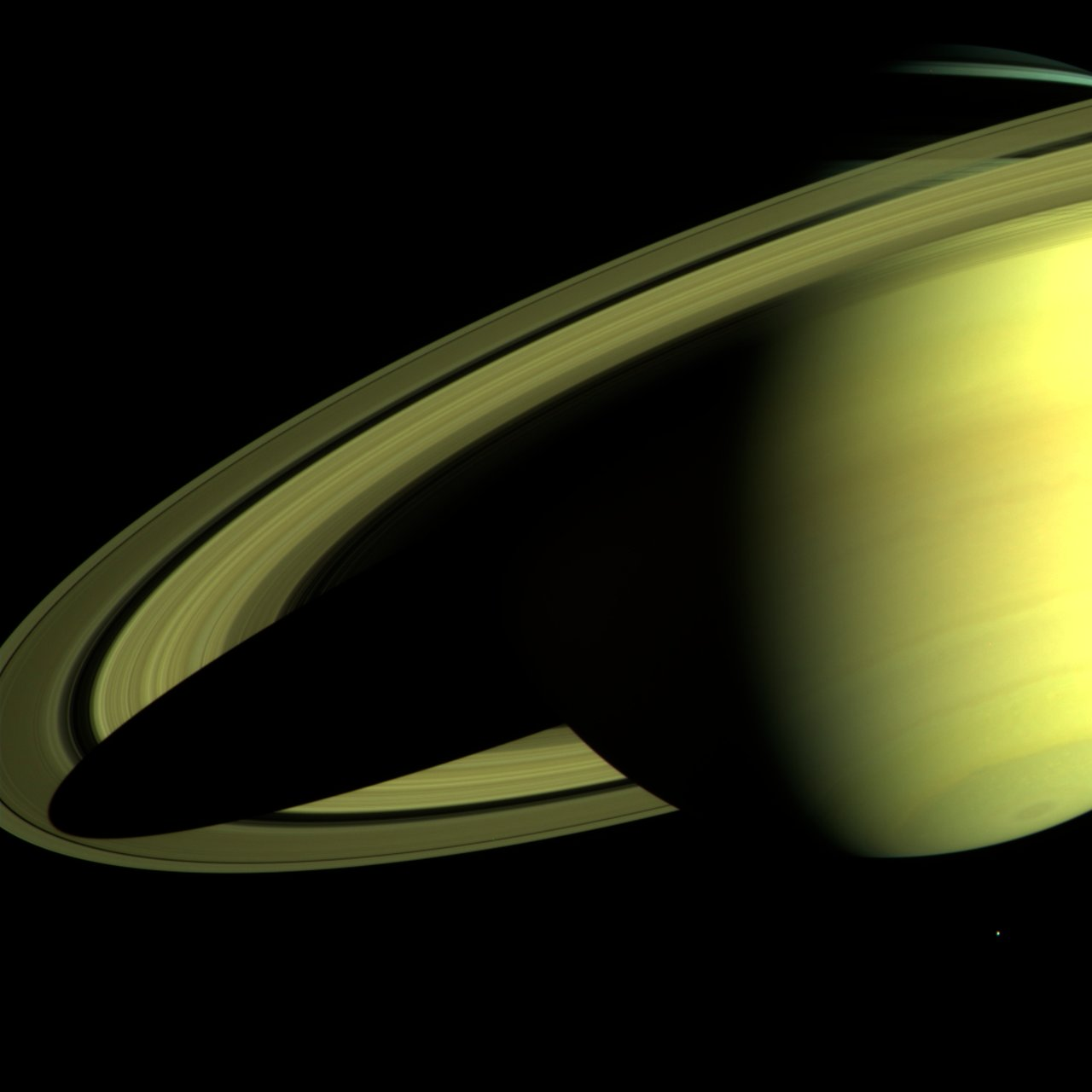 Saturn as Seen by Cassini