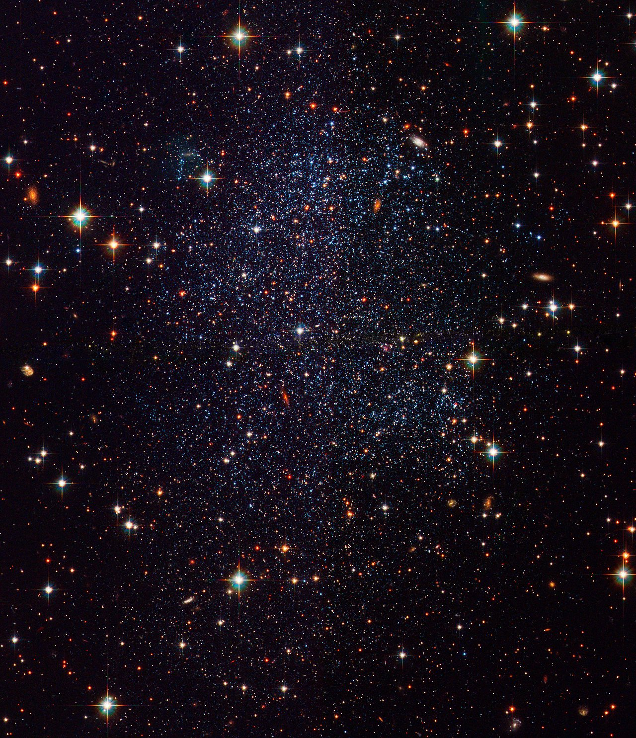 Hubble Images Sagittarius Dwarf Galaxy