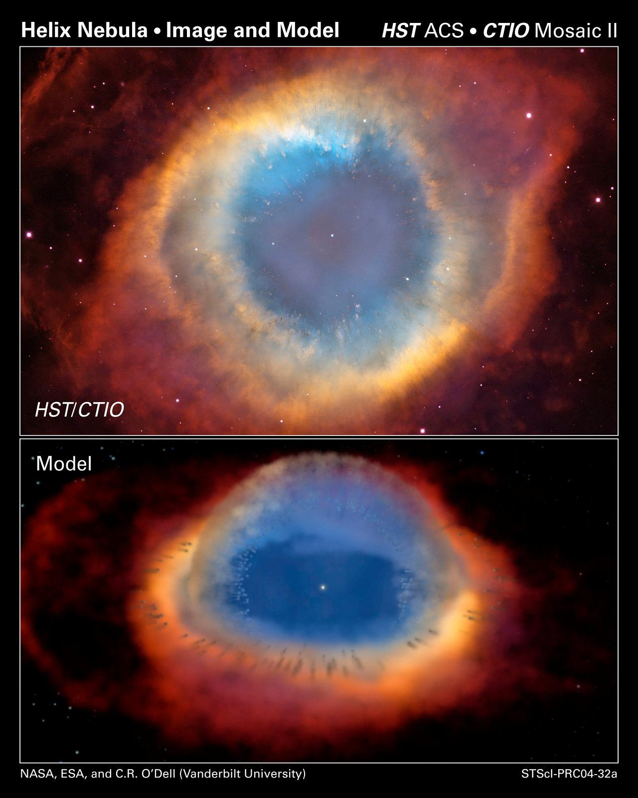 Two Views of a Nebula