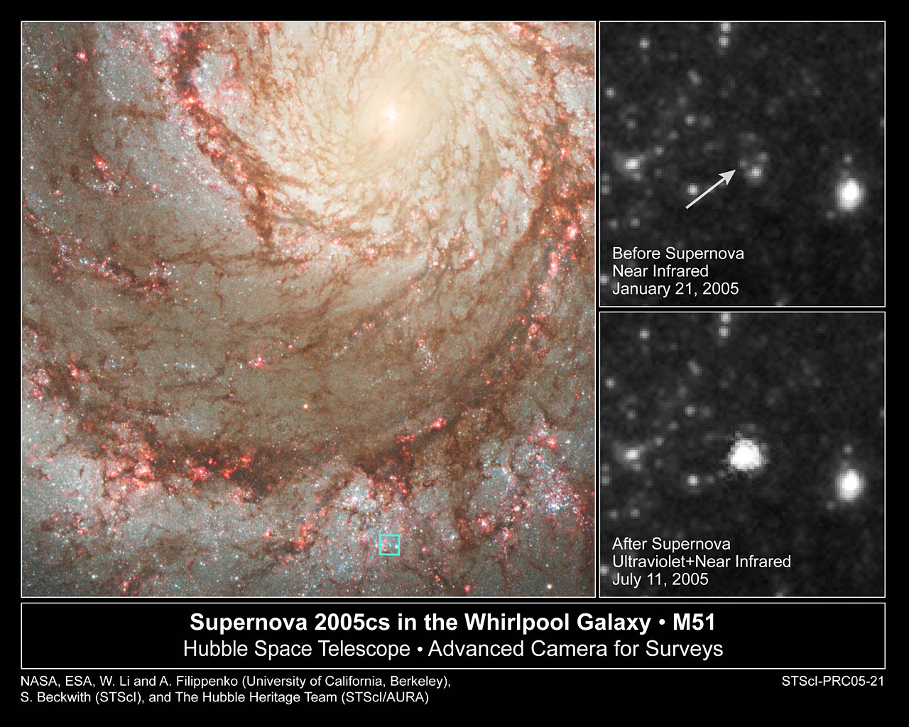 Hubble Pinpoints Doomed Star that Explodes as Supernova
