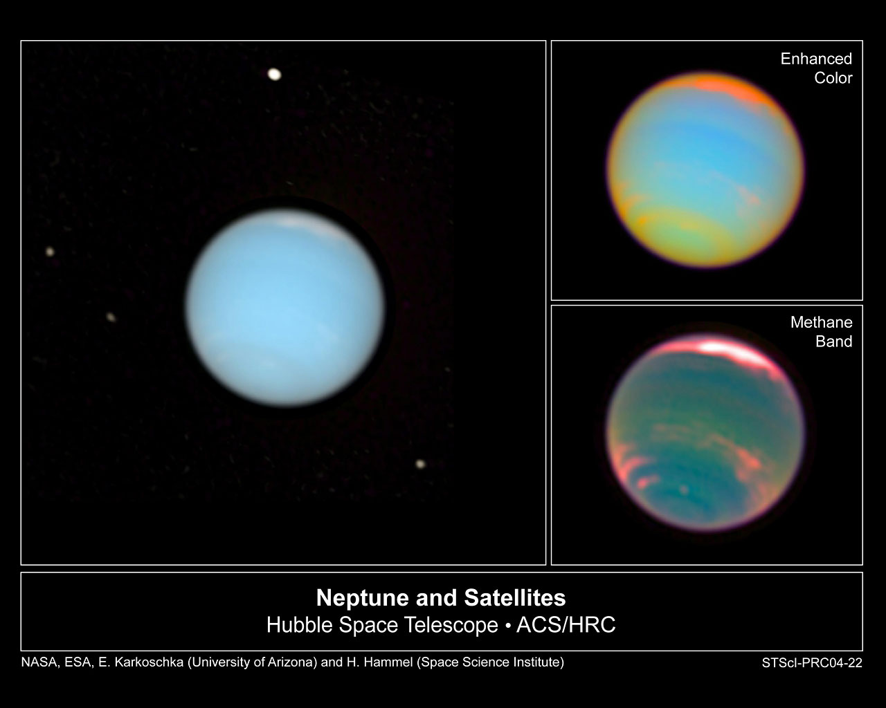 Hubble Makes Movie of Neptune's Dynamic Atmosphere