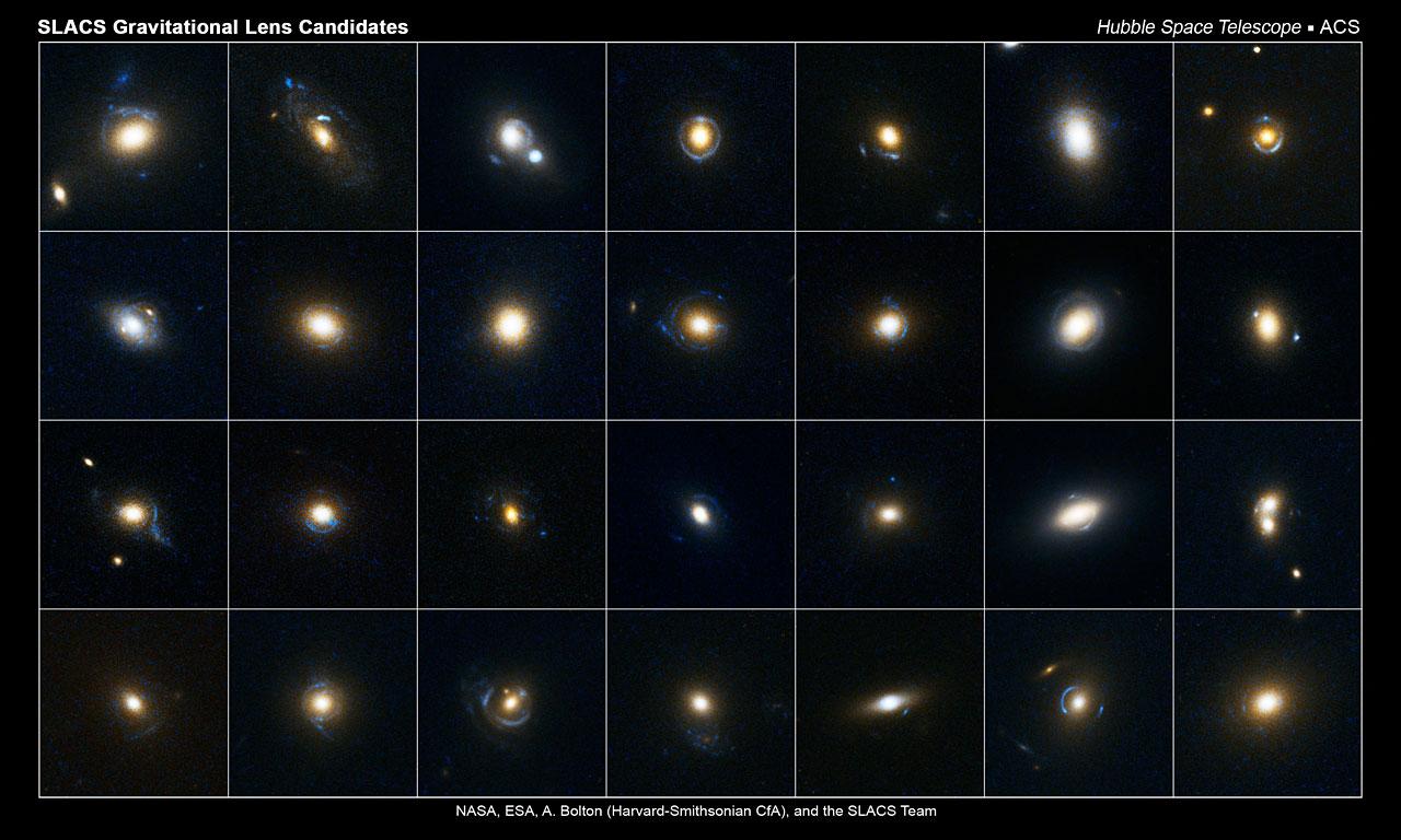 Slacs Gravitational Lens Candidates