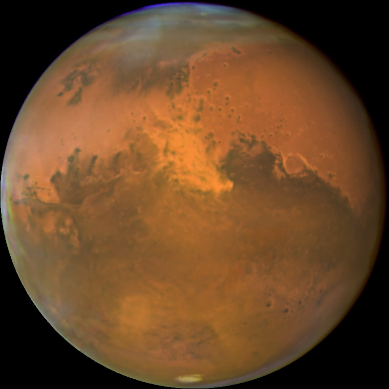 Mars Kicks Up the Dust as it Makes Closest Approach to Earth