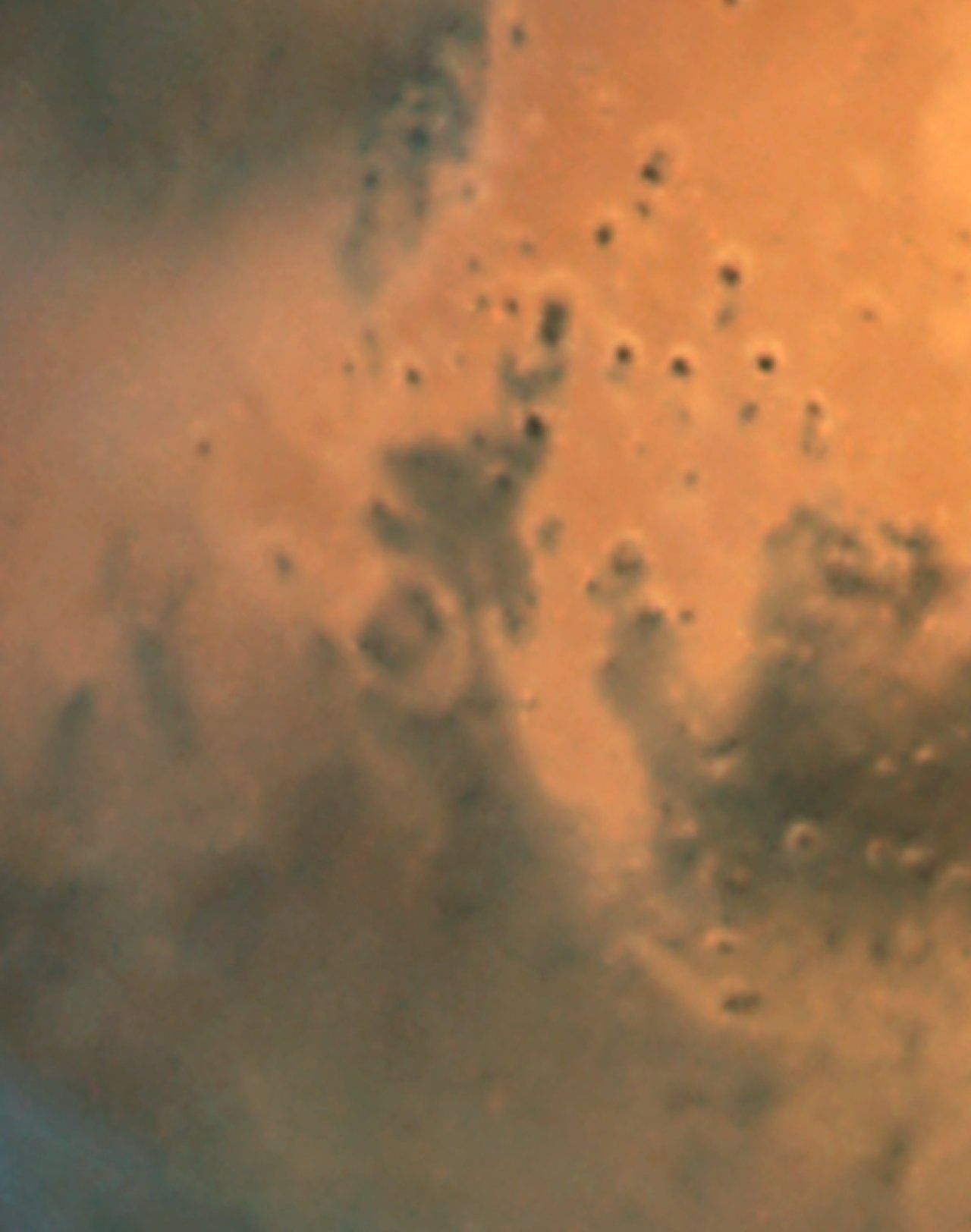 Mars Dust Storm: June 26, 2001 (WFPC2, unannotated)