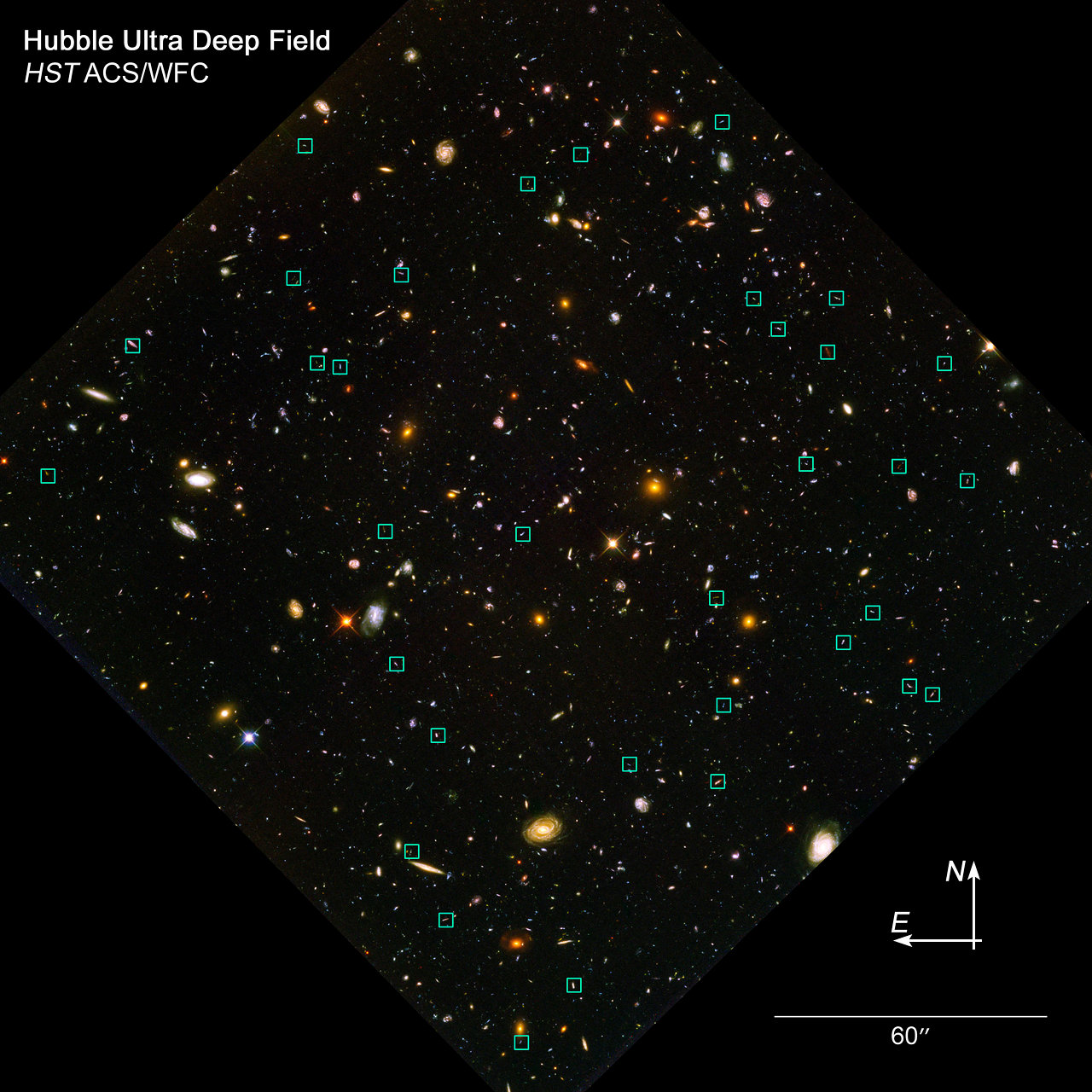 Locate the 'Tadpole' Galaxies