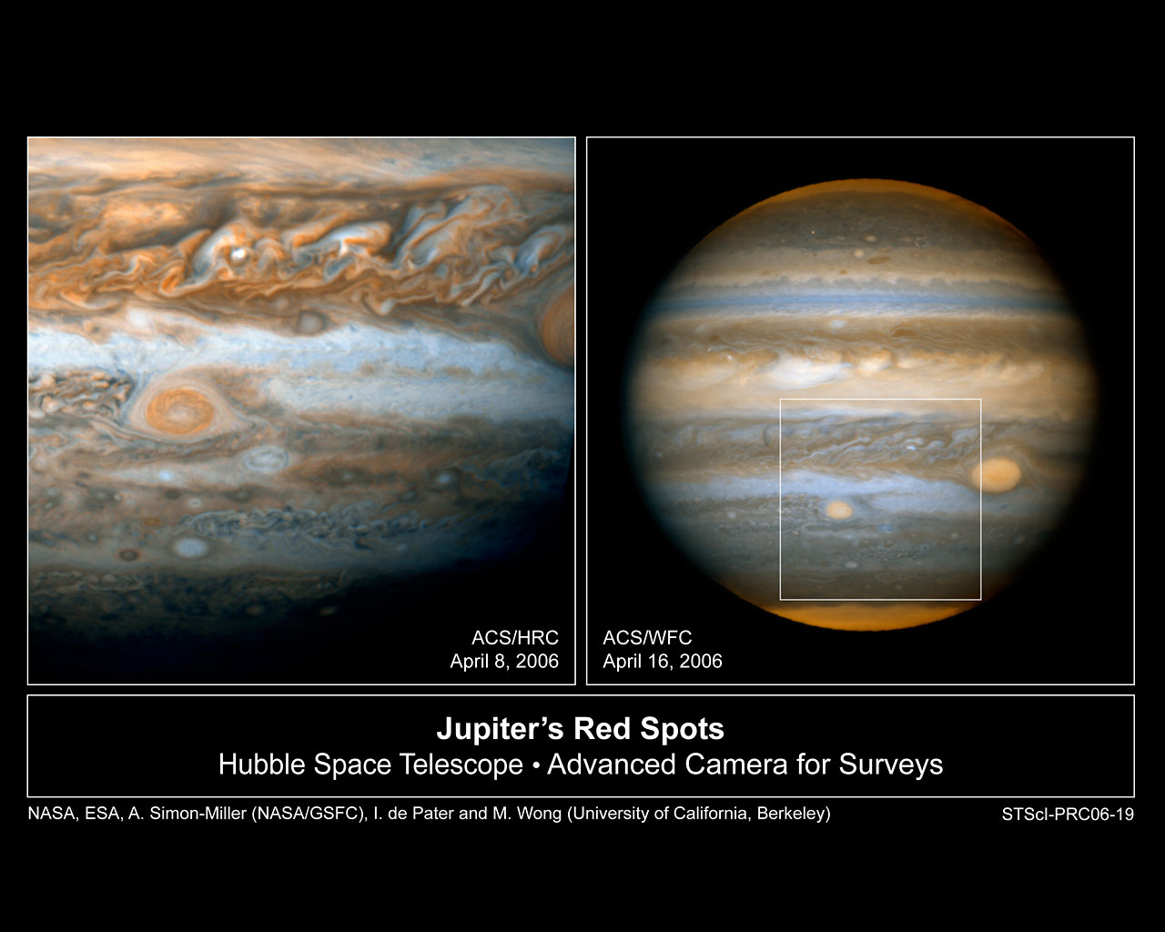 Hubble Snaps Baby Pictures of Jupiter's