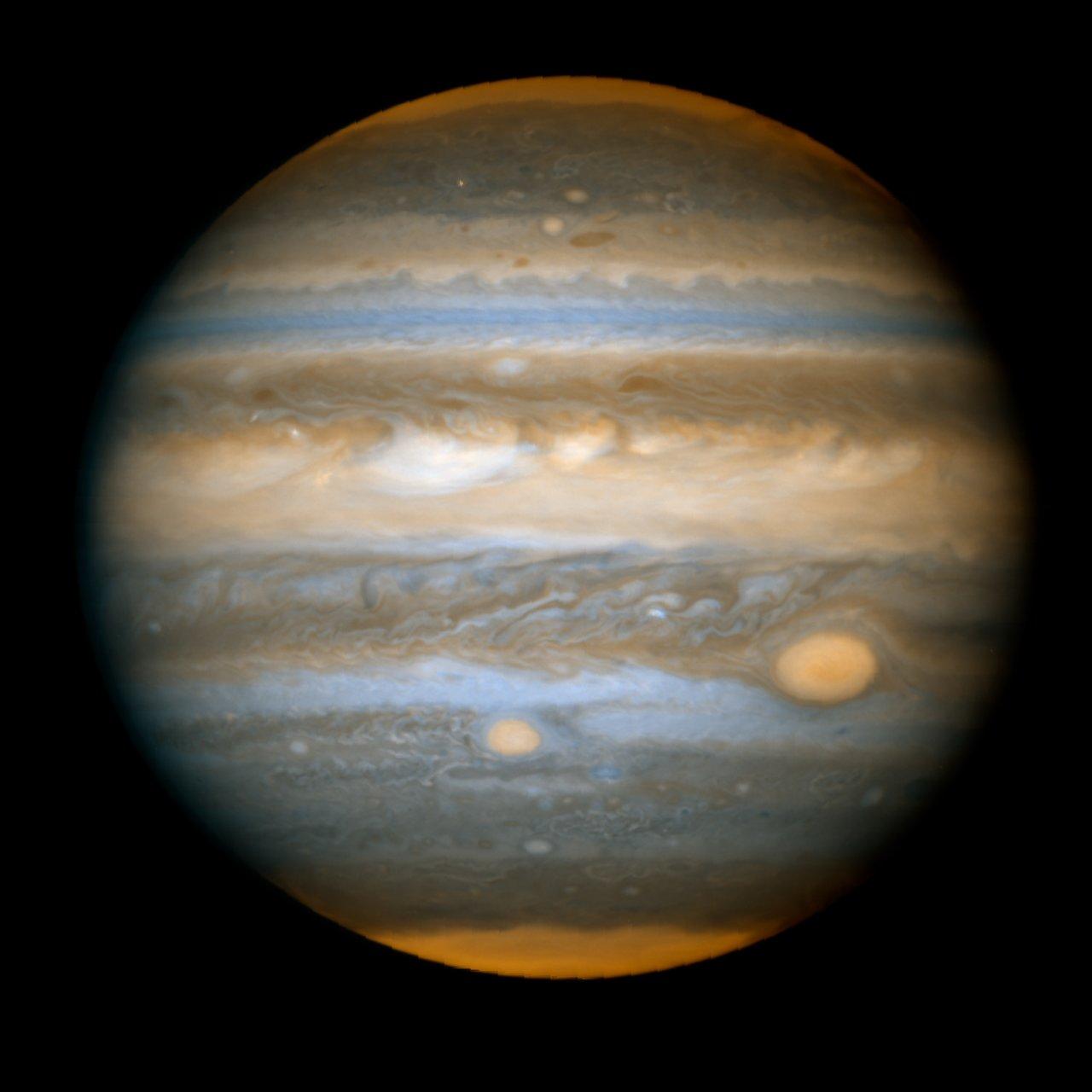 Jupiter's New Red Spot - HST ACS/WFC: April 16, 2006