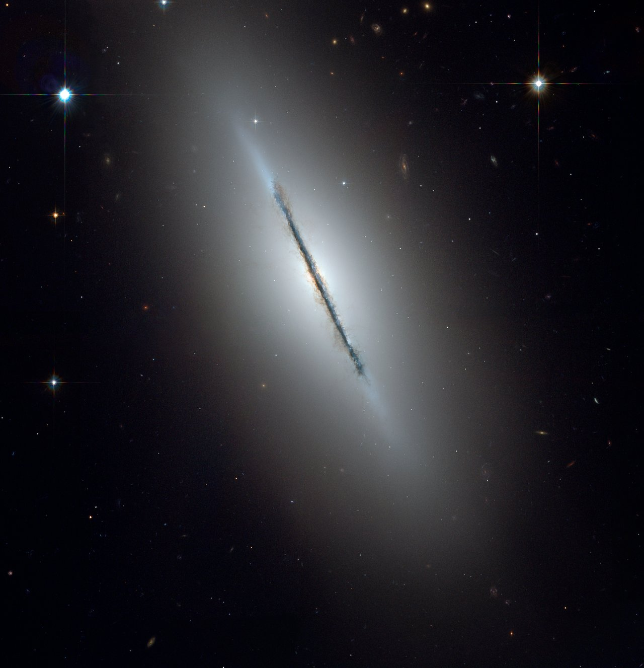 Full ACS Image of NGC 5866