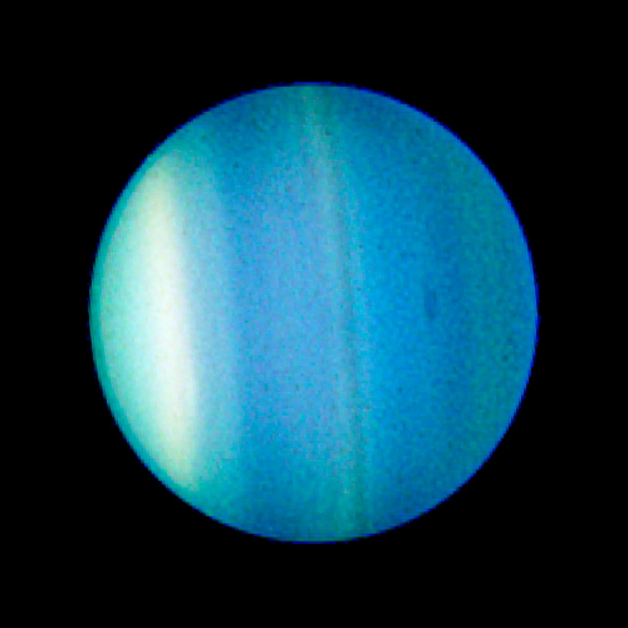 Uranus and Dark Spot - August 23, 2006