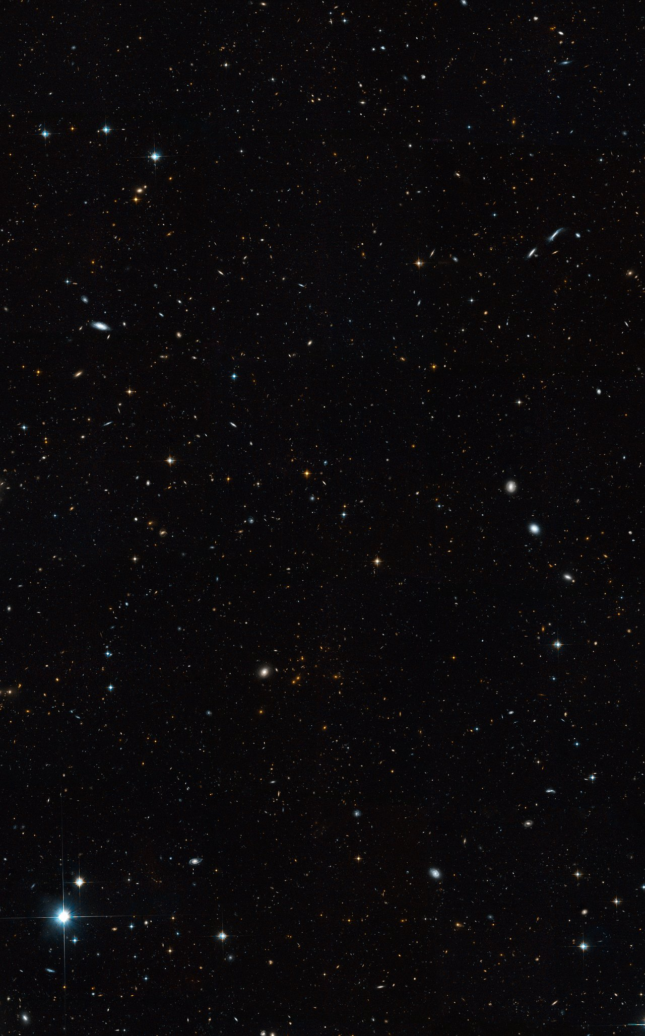 A Sky Flush with Galaxies