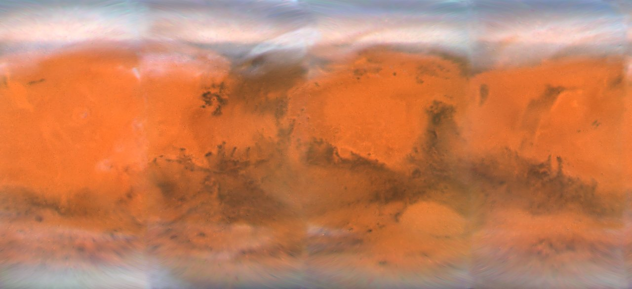 Mars Projection Map