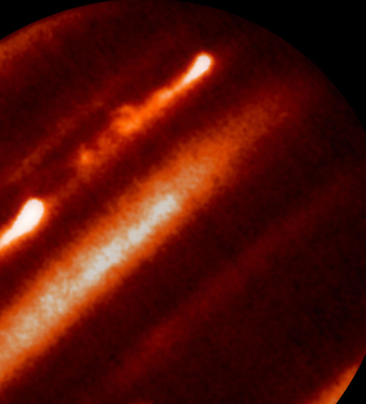 Infrared-Light Image of Jupiter — Infrared Telescope Facility (IRTF)