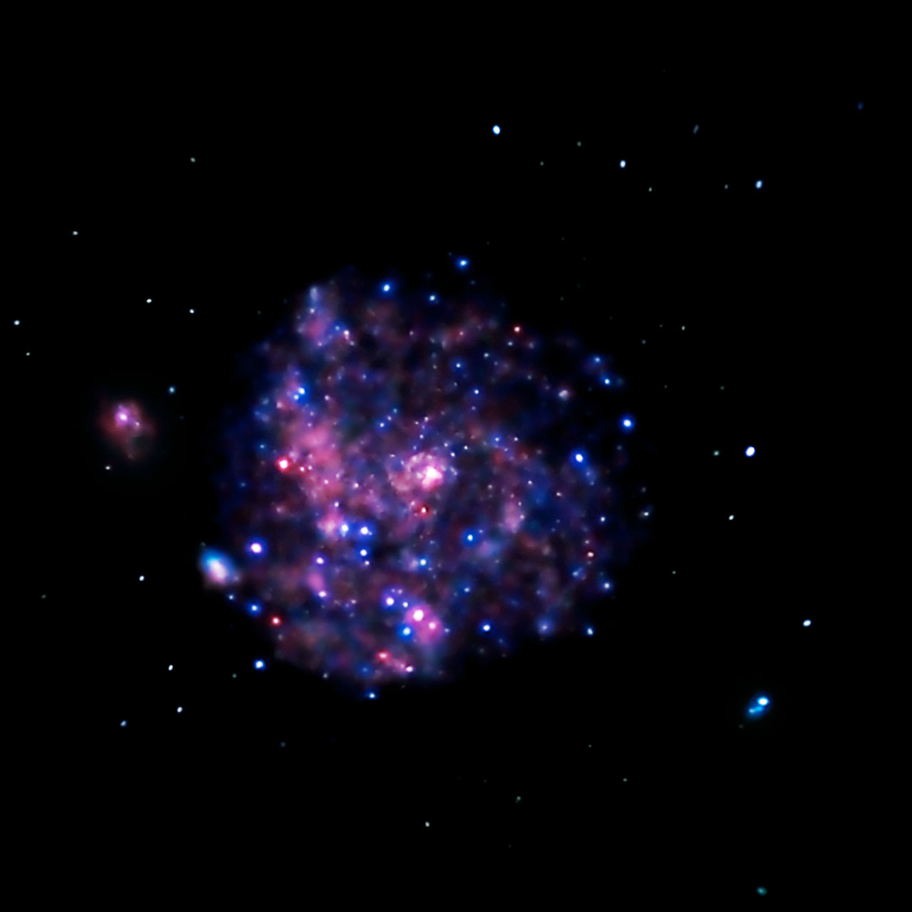 Chandra image of M101