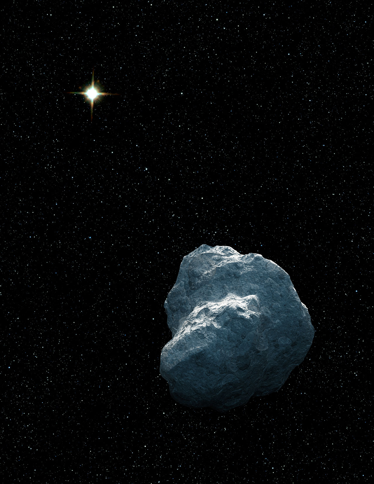 Trans-Neptunian Object (artist's impression)
