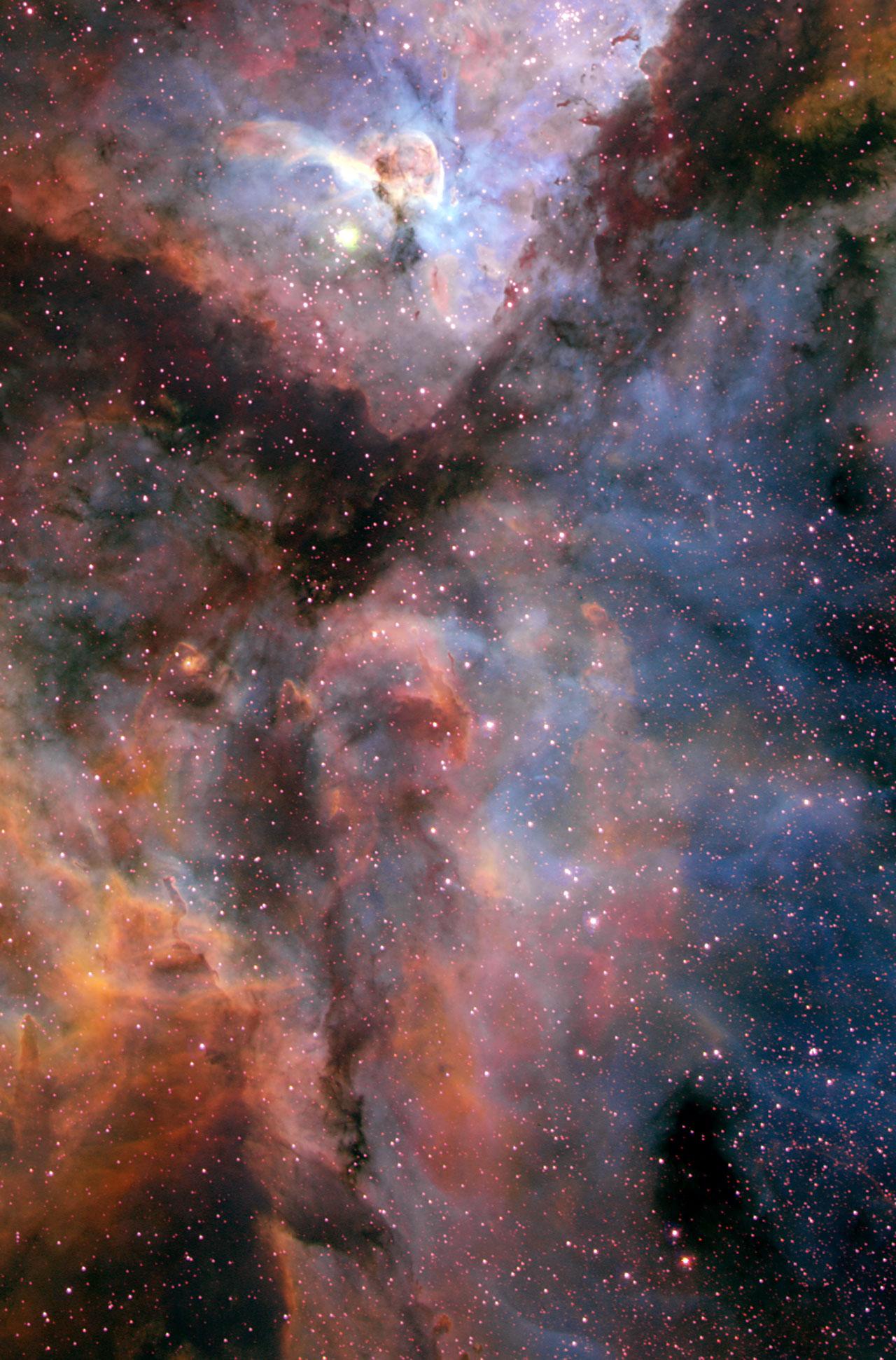 Carina Nebula (ground-based image)
