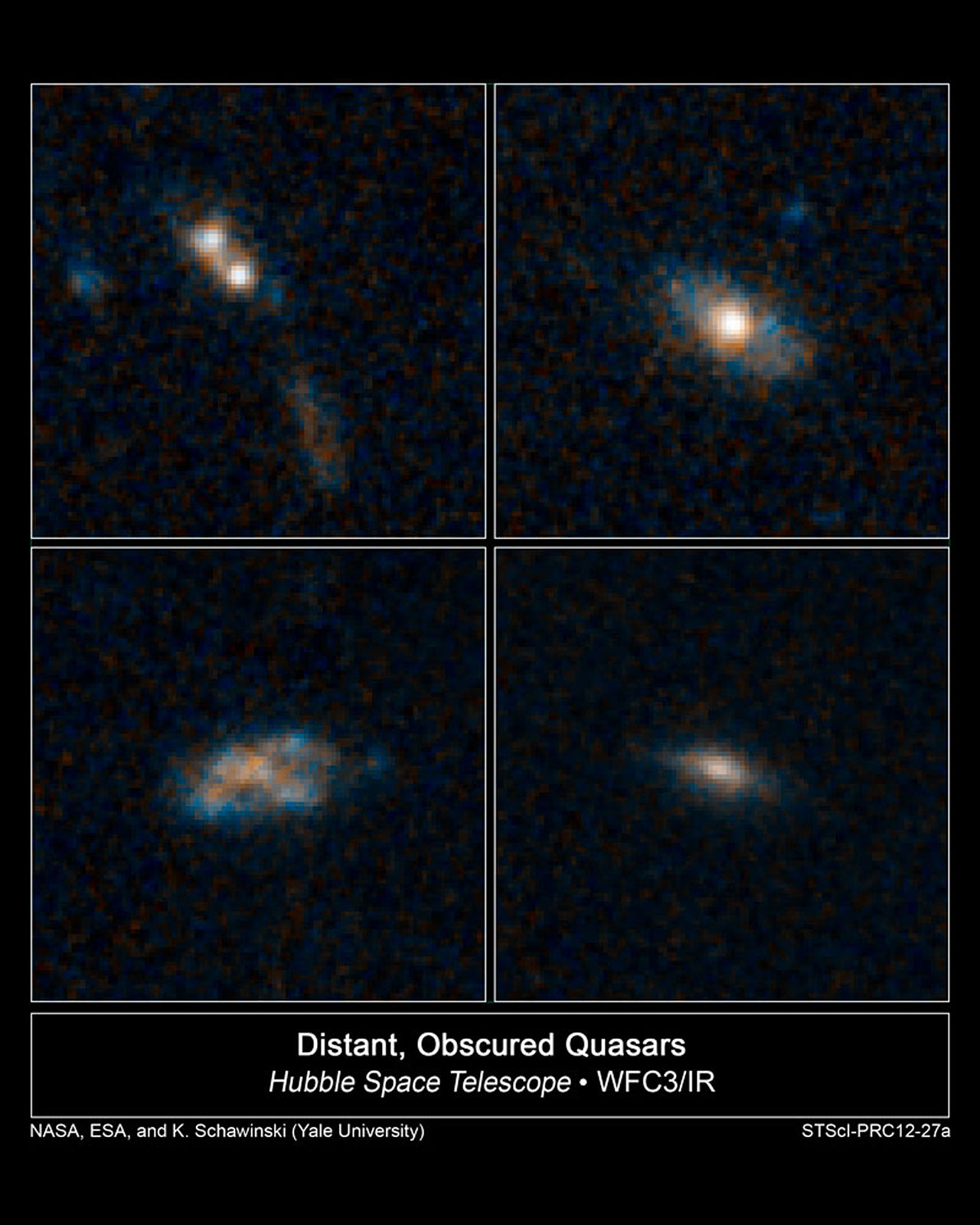 The homes of quasars
