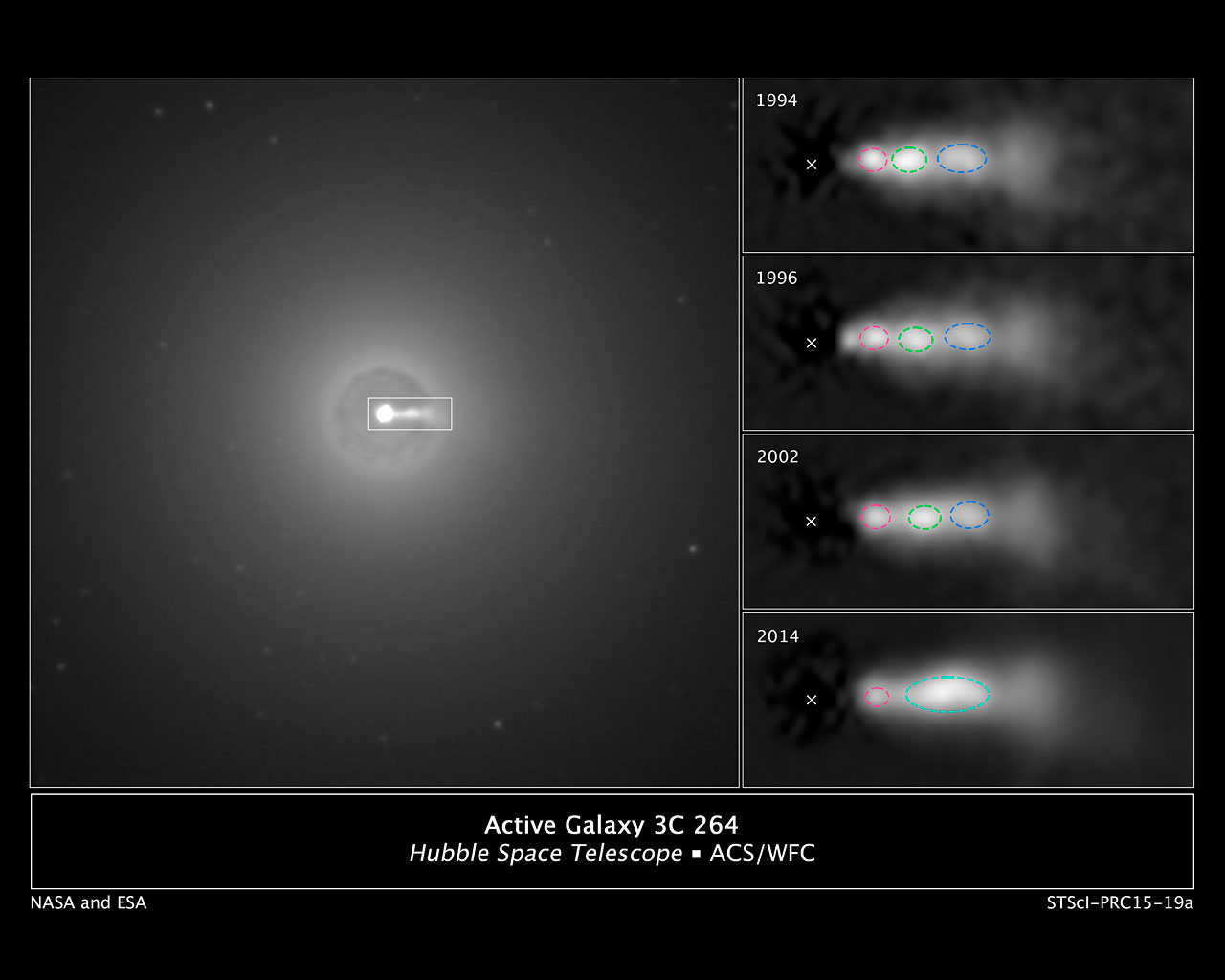 the hubble space telescope and the concept of black hole in the galaxy Astronomers using the nasa/esa hubble space telescope have identified the source of a mysterious blue light surrounding a supermassive black hole in our neighbouring andromeda galaxy (m31) though .