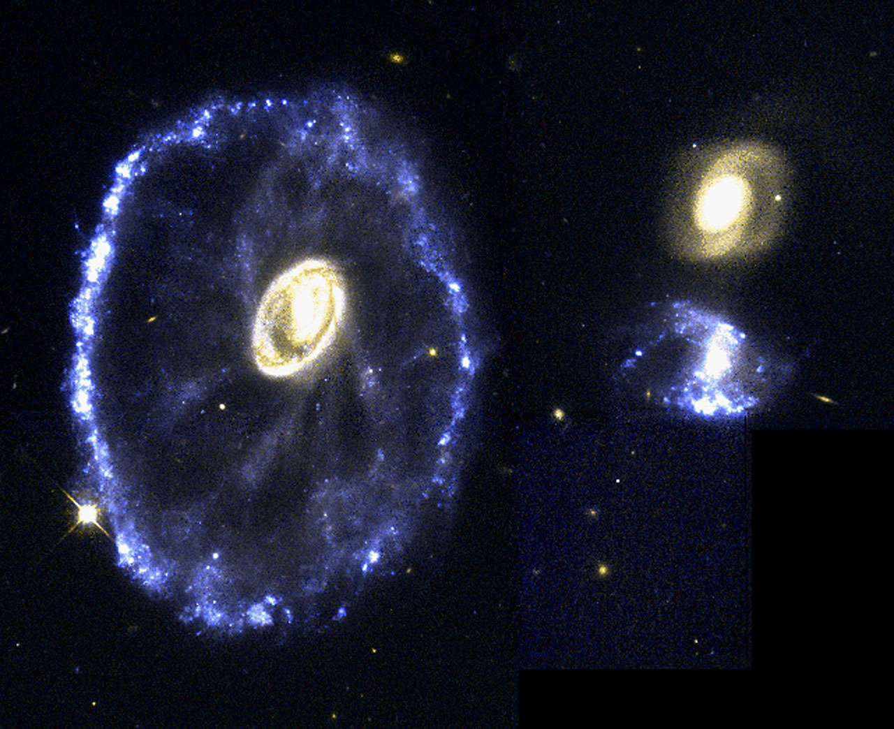 The Cartwheel Galaxy