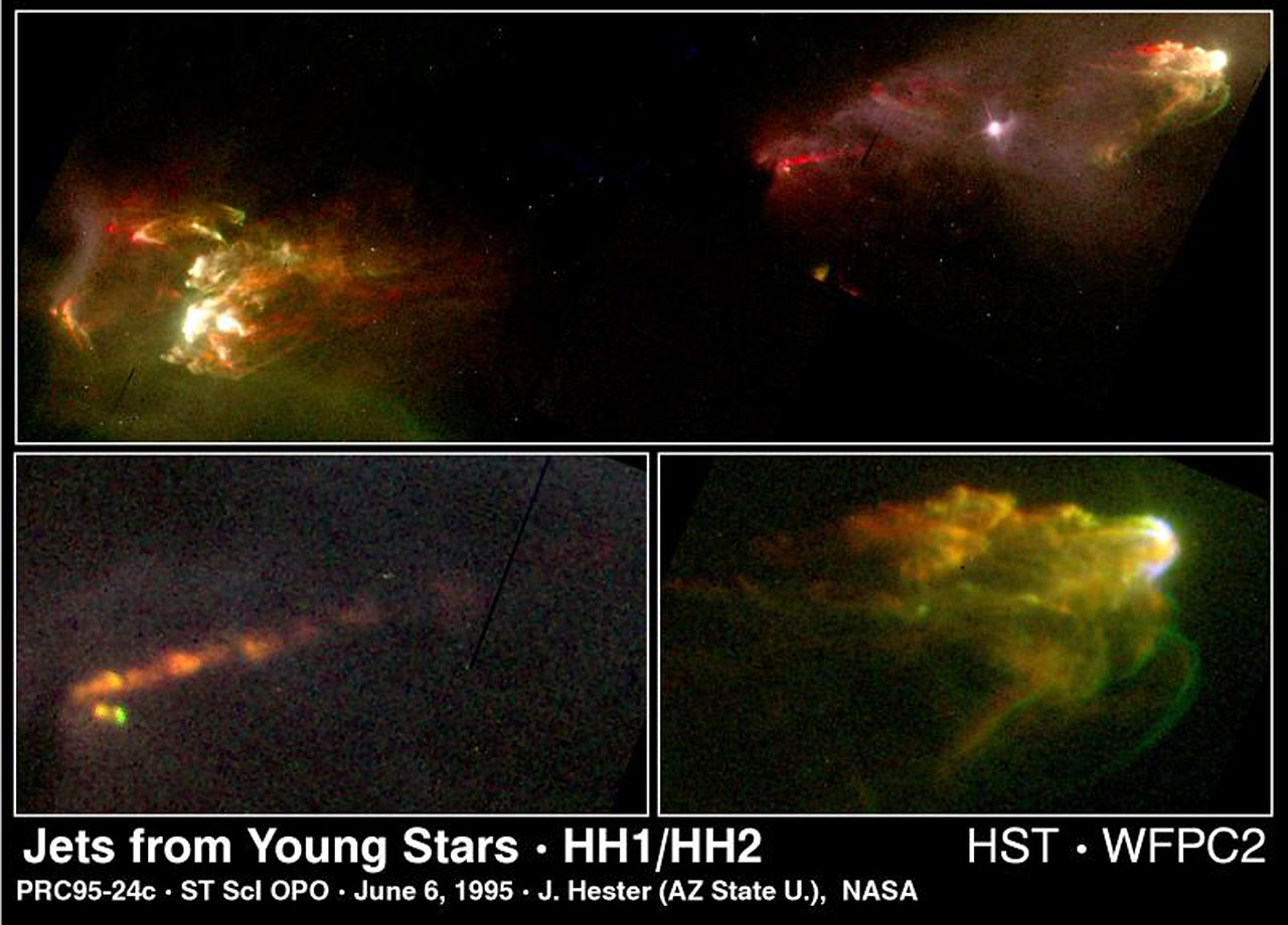 Jets from Young Star