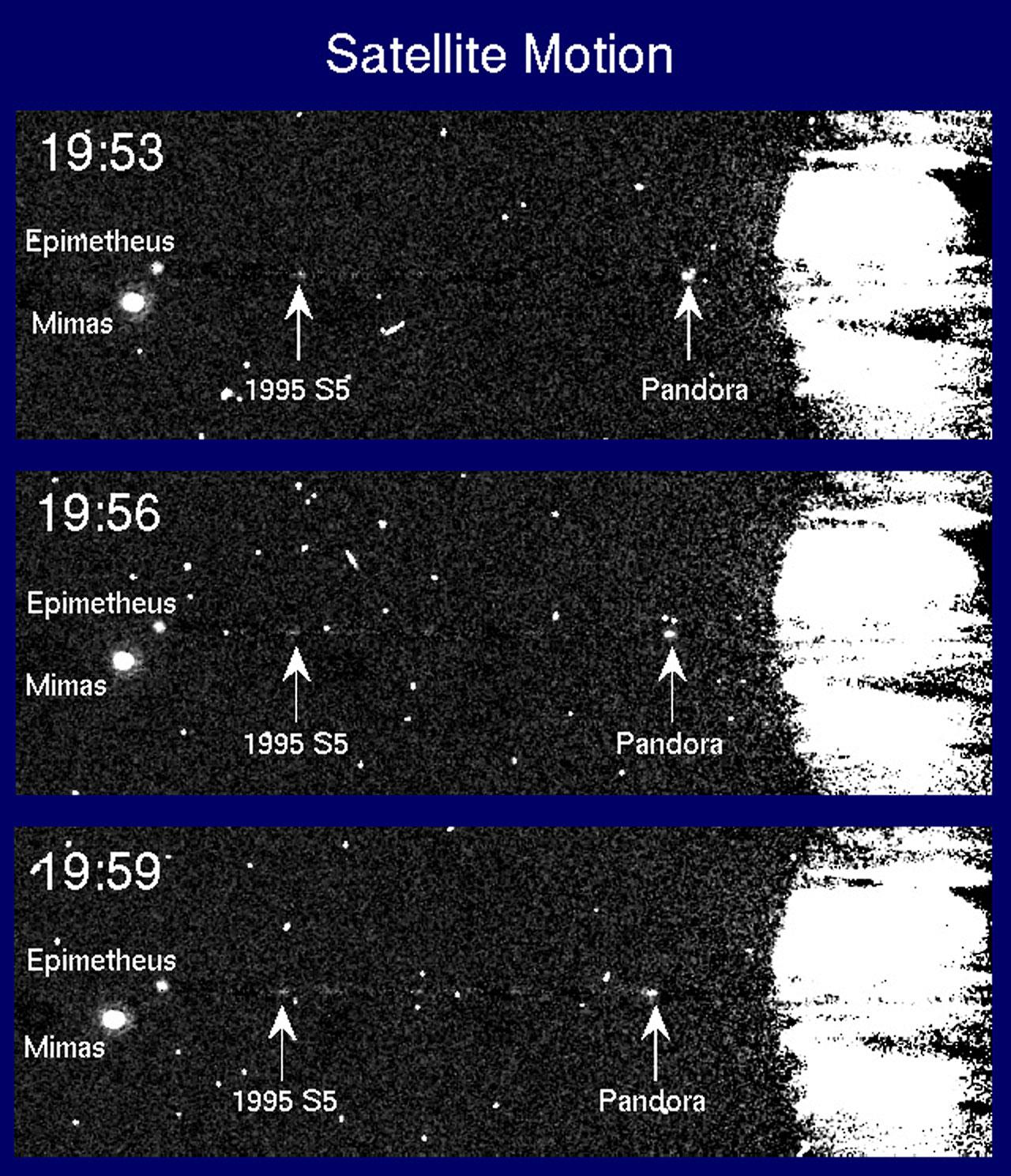 Motion of Saturn's Satellites