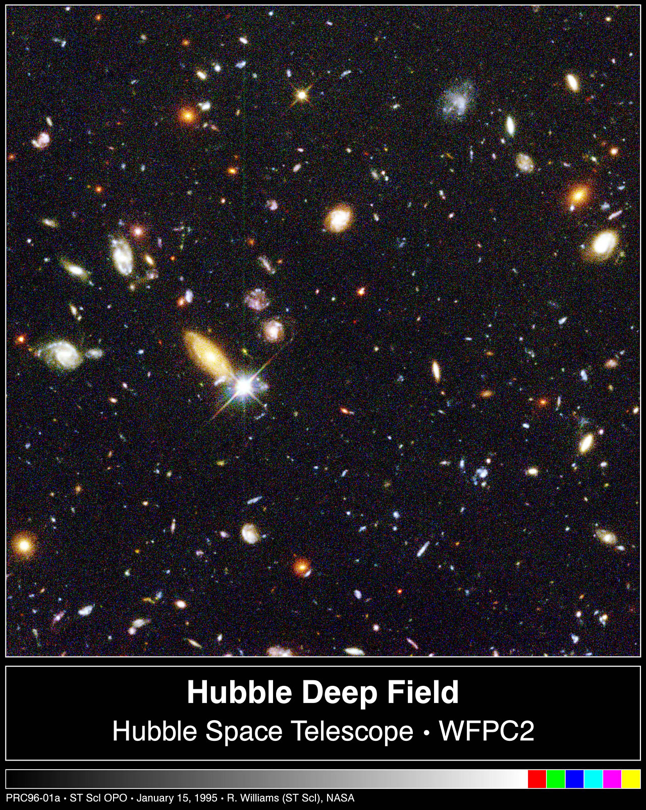 Hubble's Deepest-Ever View of the Universe Unveils Myriad Galaxies Back to the Beginning of Time