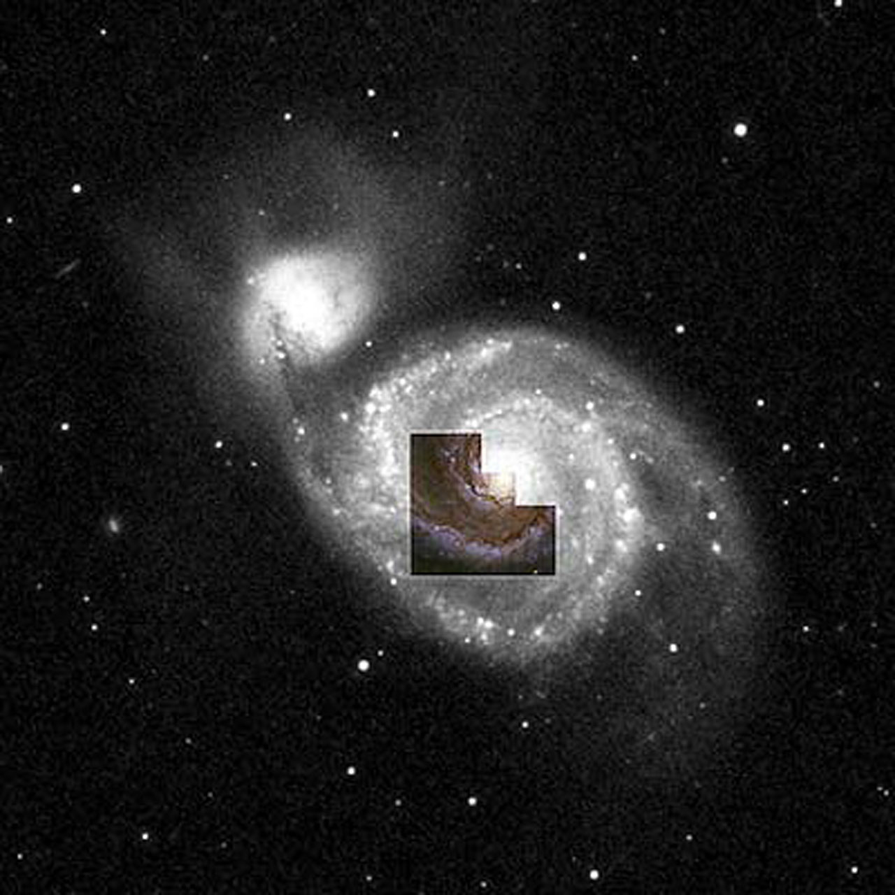 whirlpool galaxy hubble nasa center picture - photo #15