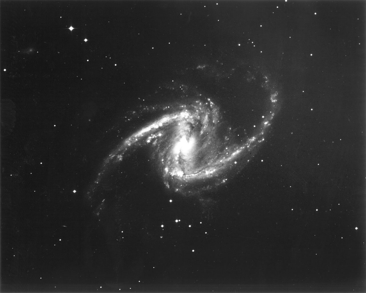 Galaxy ngc 1365 galaxy ngc 1365 this black and white photograph