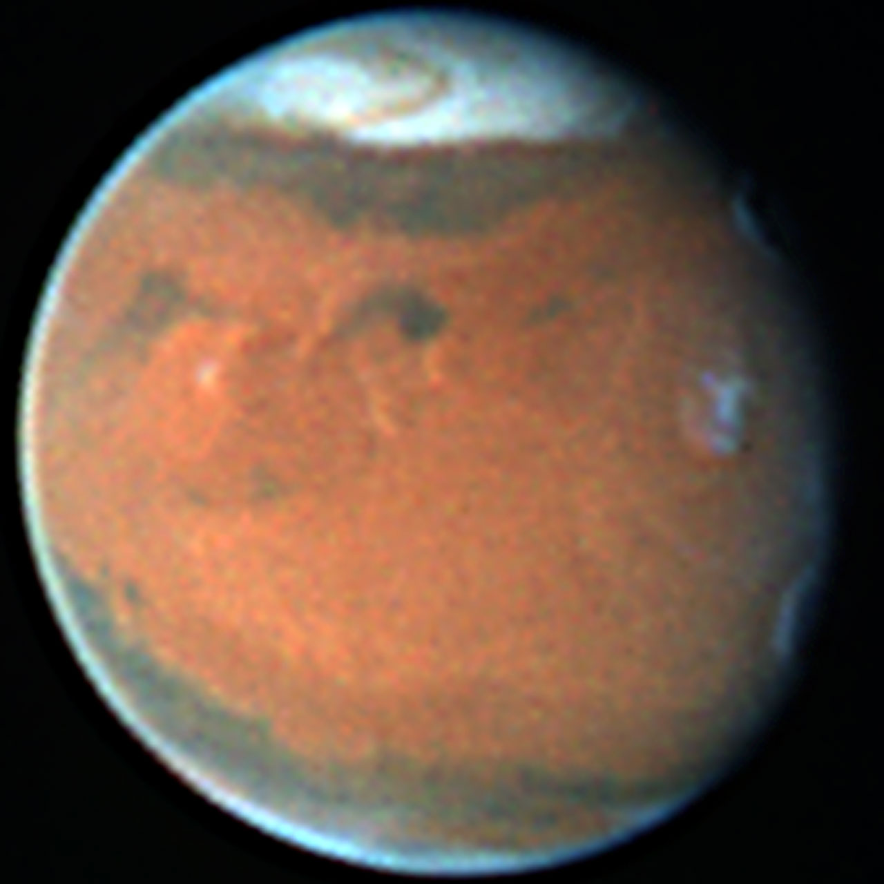 Mars In December 1996 Esa Hubble