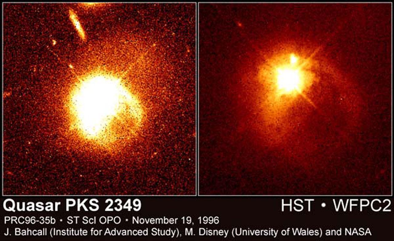 Quasar PKS 2349