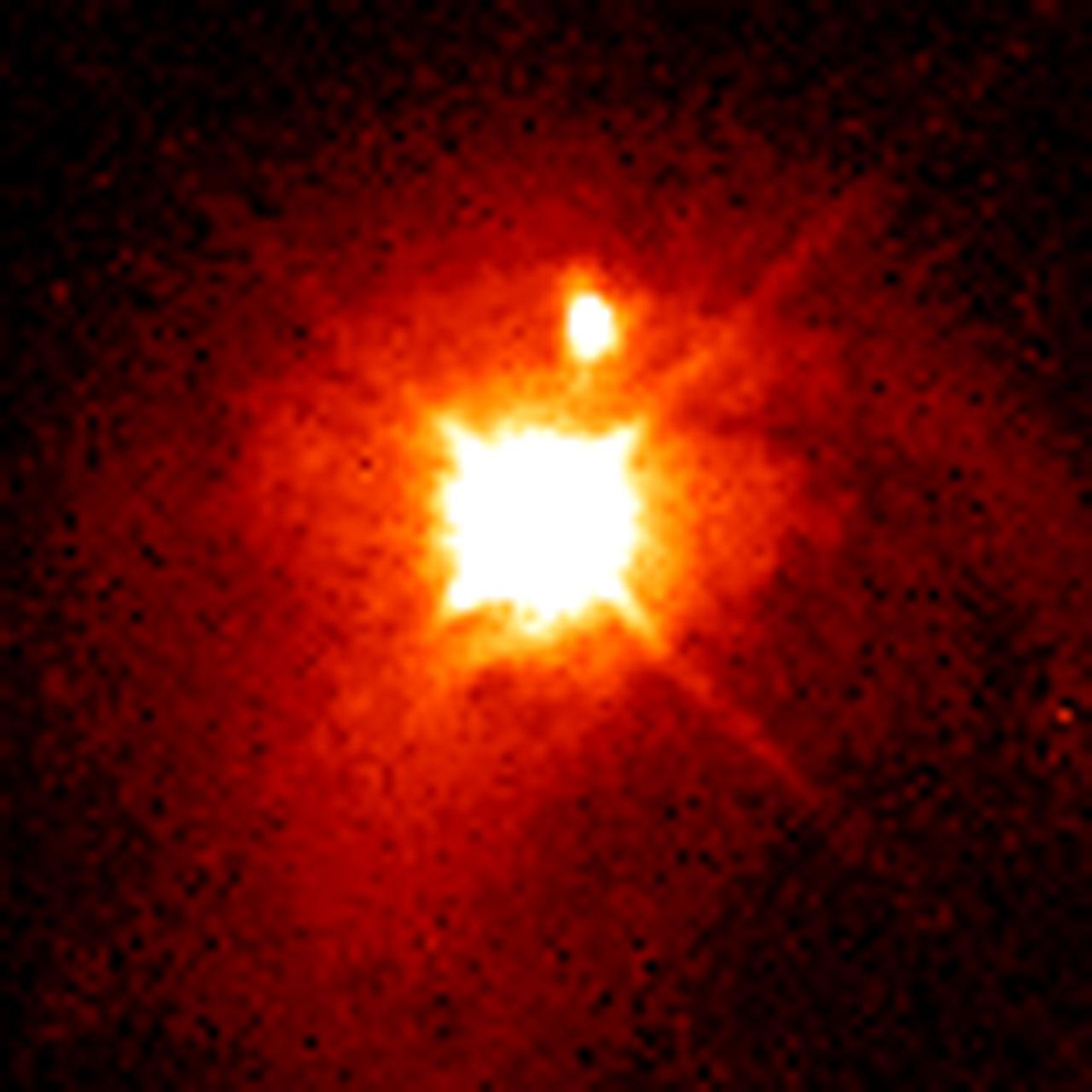 Quasar Pks 2349 Esa Hubble