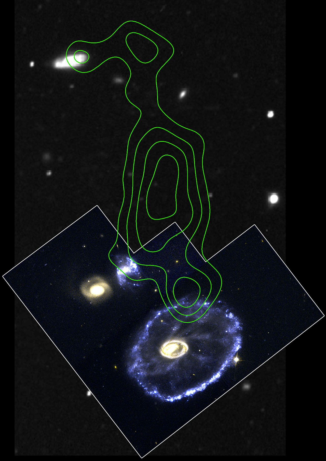 Cartwheel Galaxy Region
